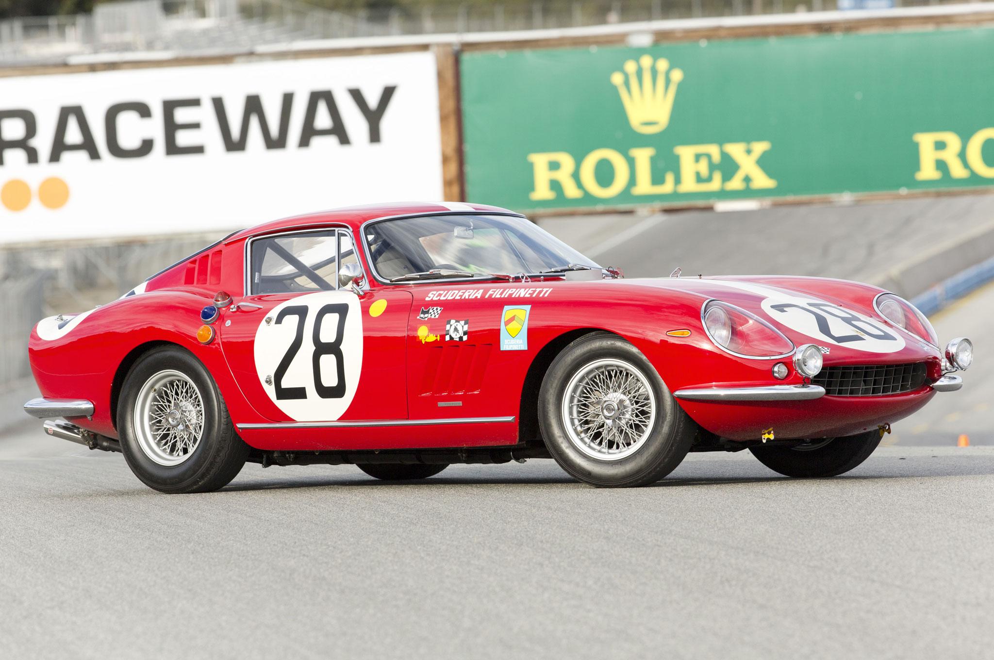 1966 Ferrari 275 GTB Competizione Scaglietti Front Driver Profile View 1