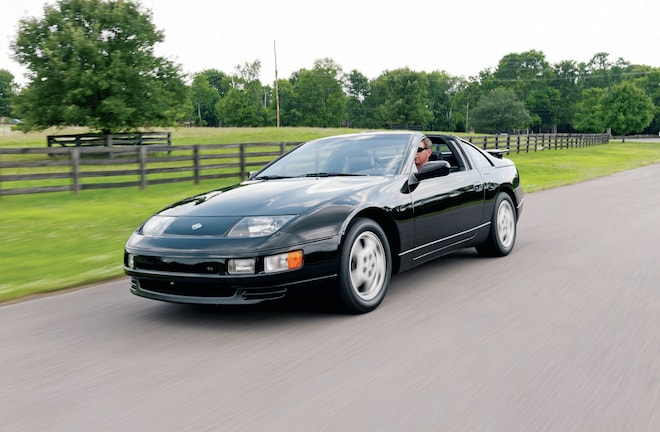 1990 1996 Nissan 300ZX Front Three Quarter View In Motion