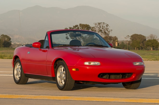 1990 Mazda MX 5 Front Three Quarter View