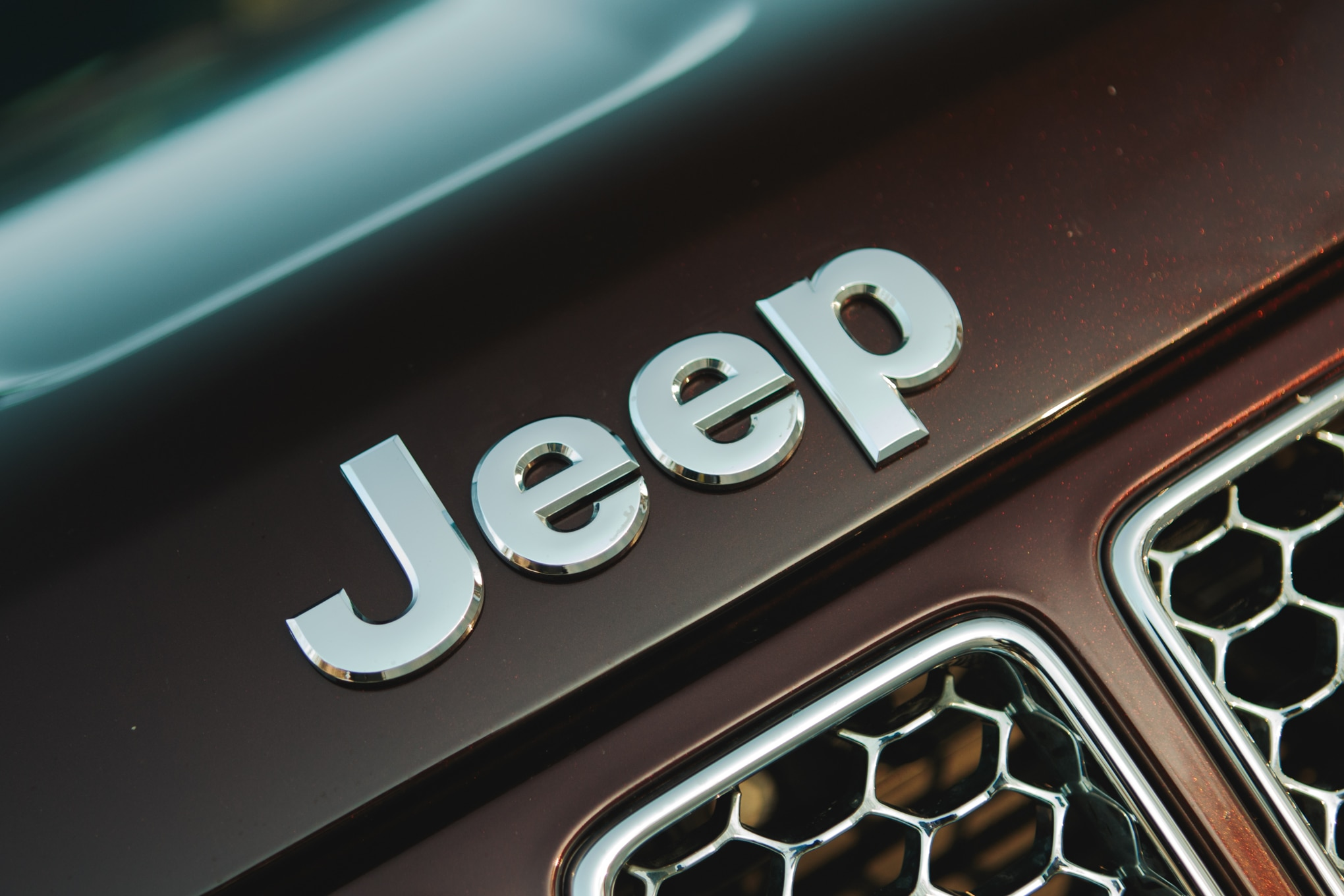 2014 Jeep Grand Cherokee EcoDiesel Badge