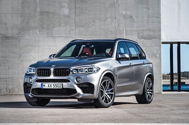 2015 BMW X5 M Front Three Quarters