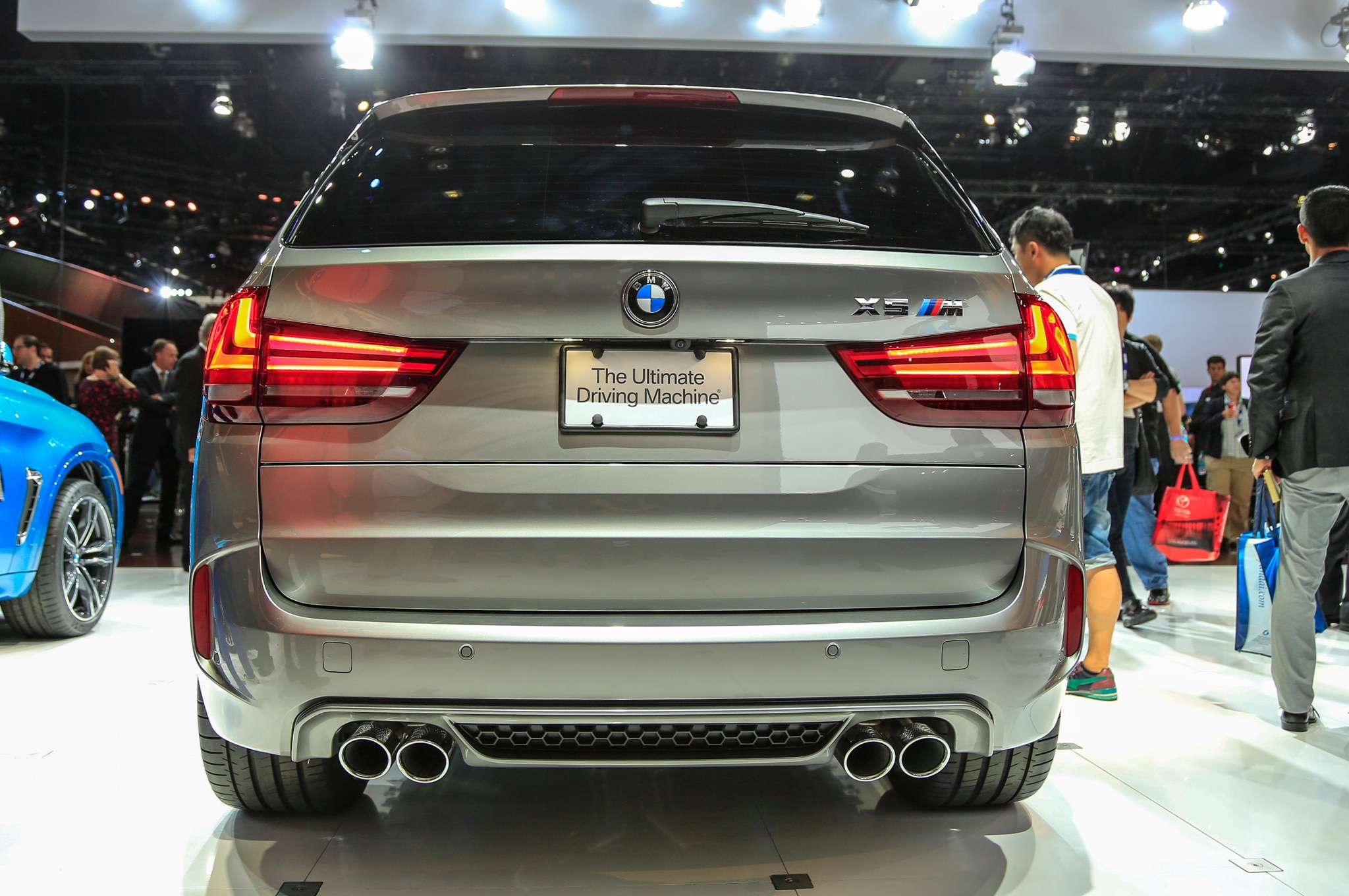 2015 BMW X5 M and X6 M Revealed, Slated for 2014 Los Angeles Show