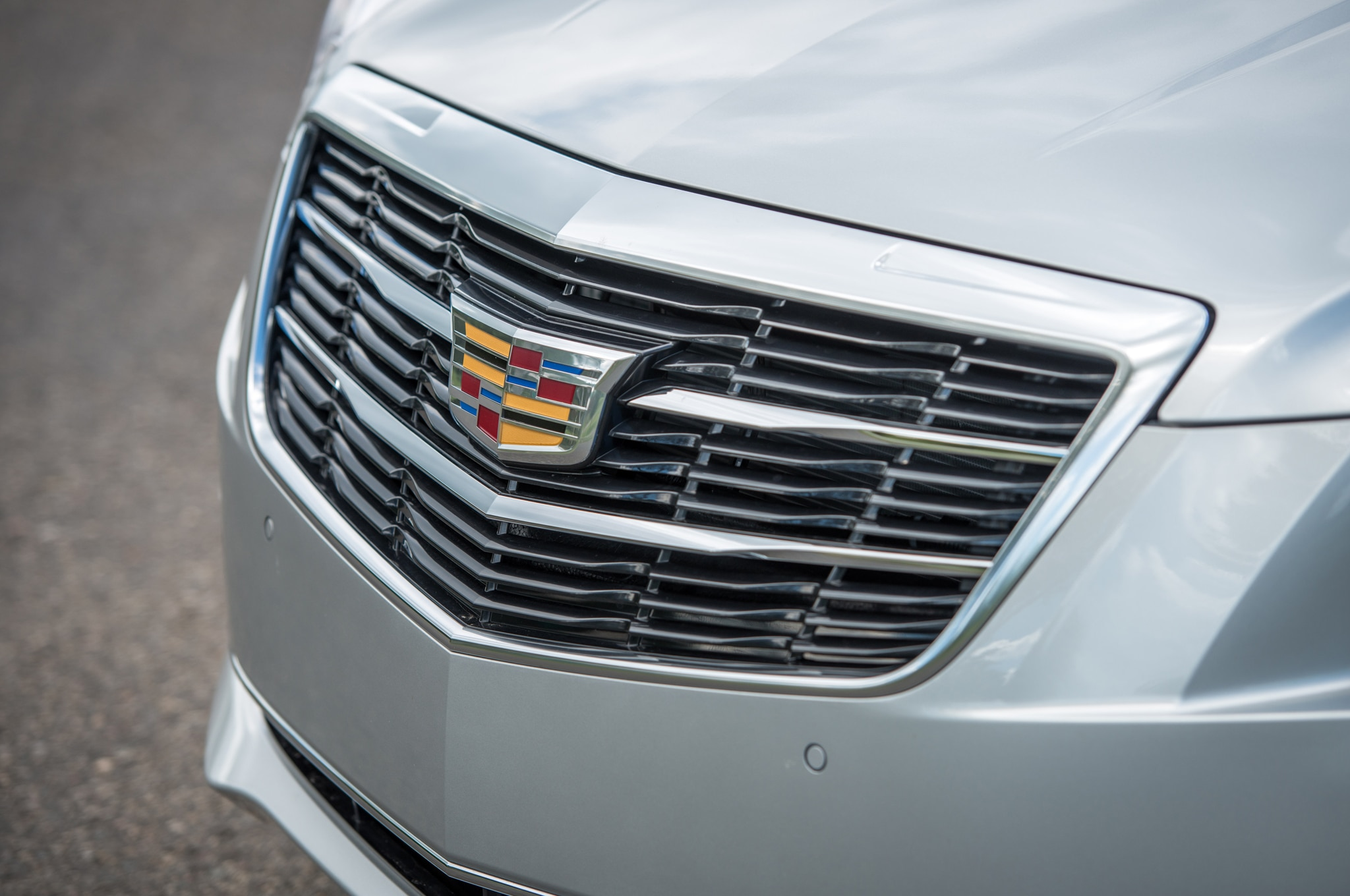 2015 Cadillac ATS Coupe Grille 02