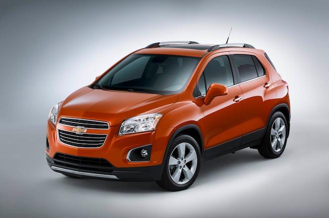 2015 Chevrolet Trax Profile