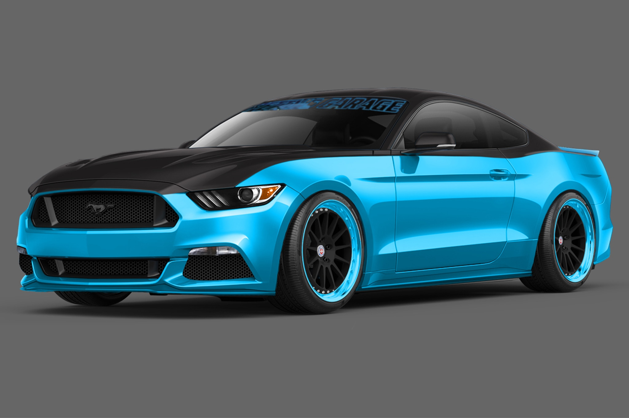2015 Ford Mustang By Pettys Garage For 2014 SEMA Show