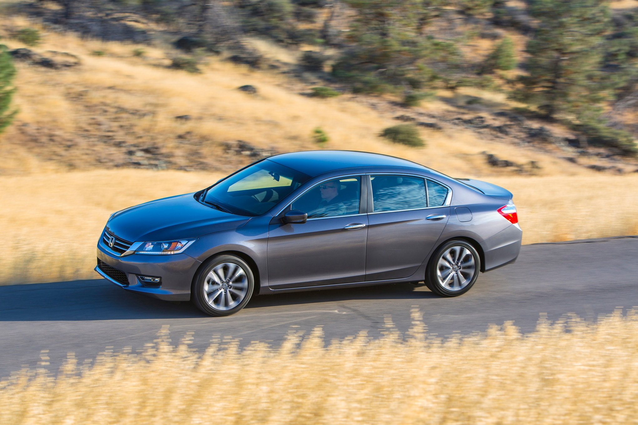 2015 Honda Accord Sport Side In Motion 02