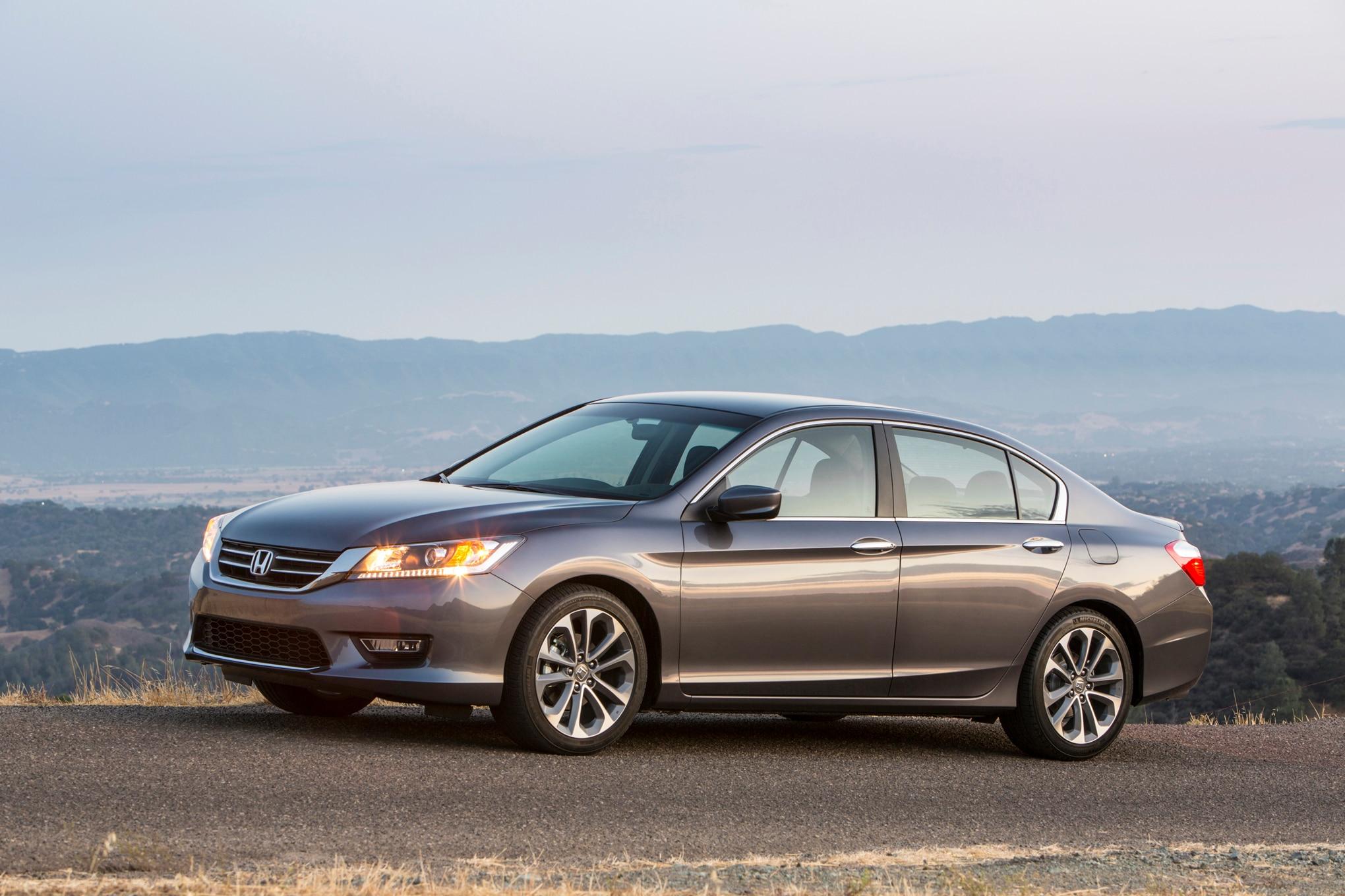 2015 Honda Accord Sport Side Profile