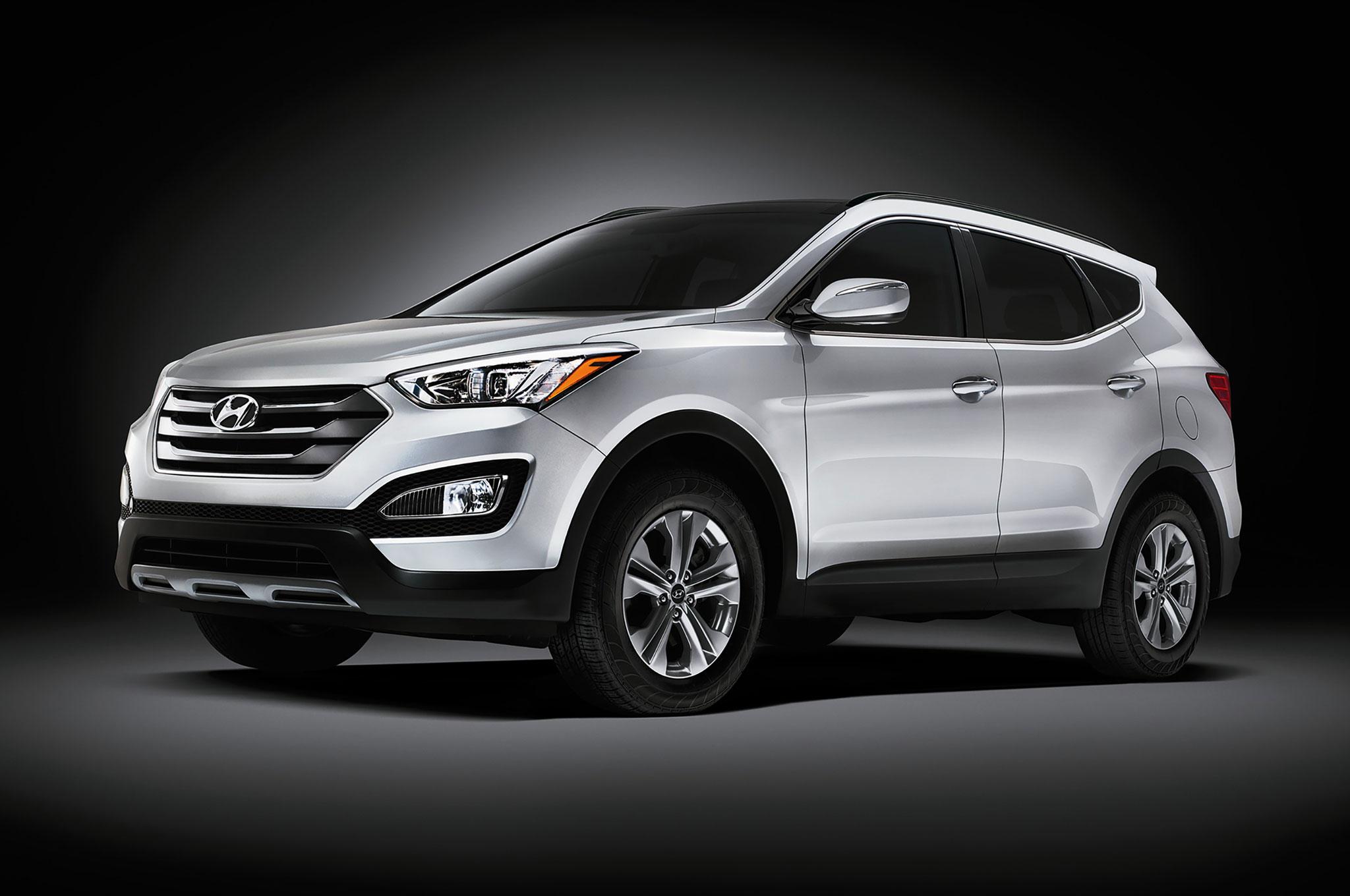 2015 Hyundai Santa Fe, Santa Fe Sport Updated