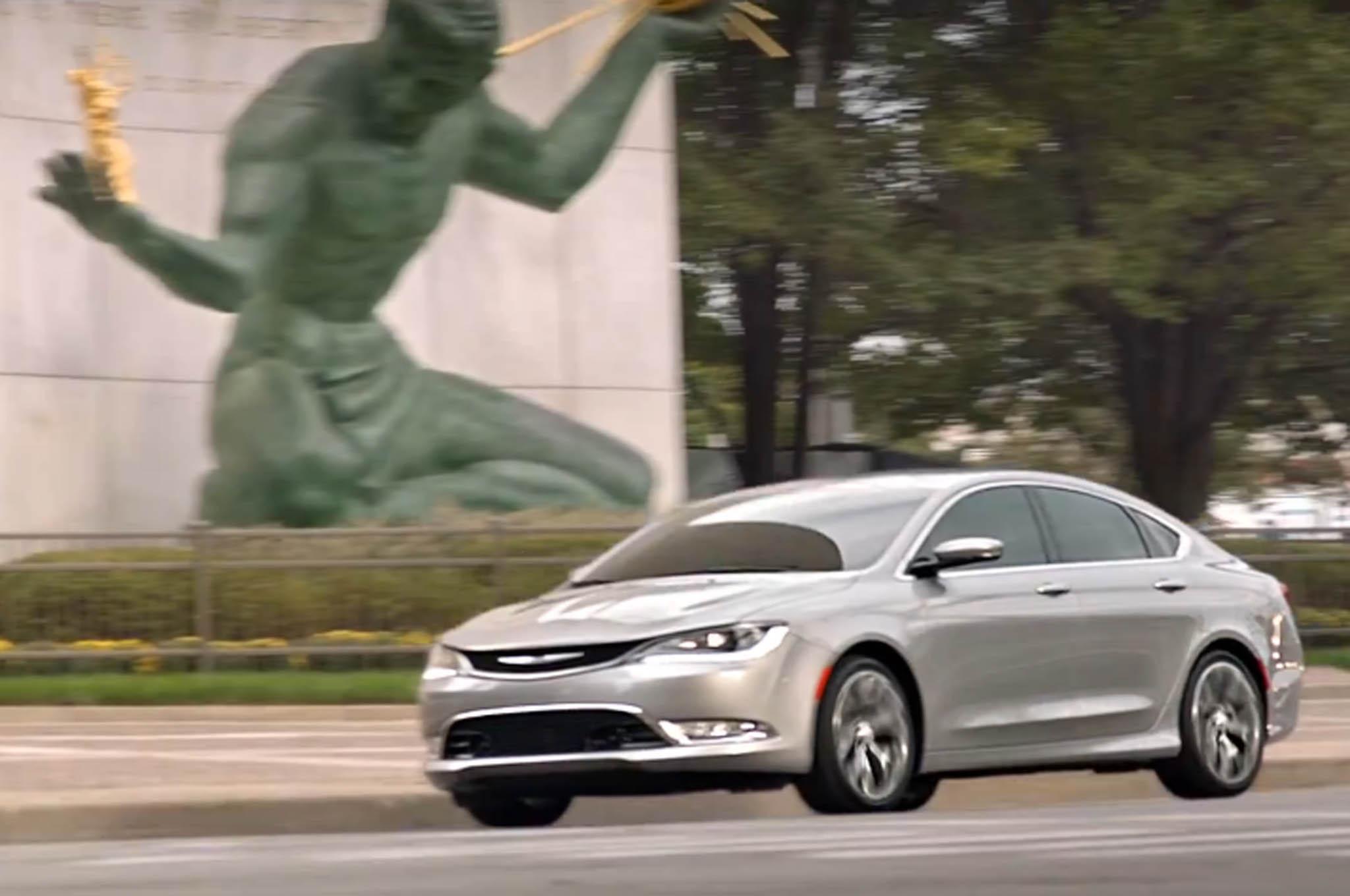 New 2015 Chrysler 200 Ads Take Aim At Japanese German Cars
