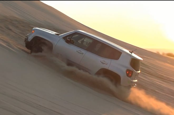 2015 Jeep Renegade Dunes Screenshot