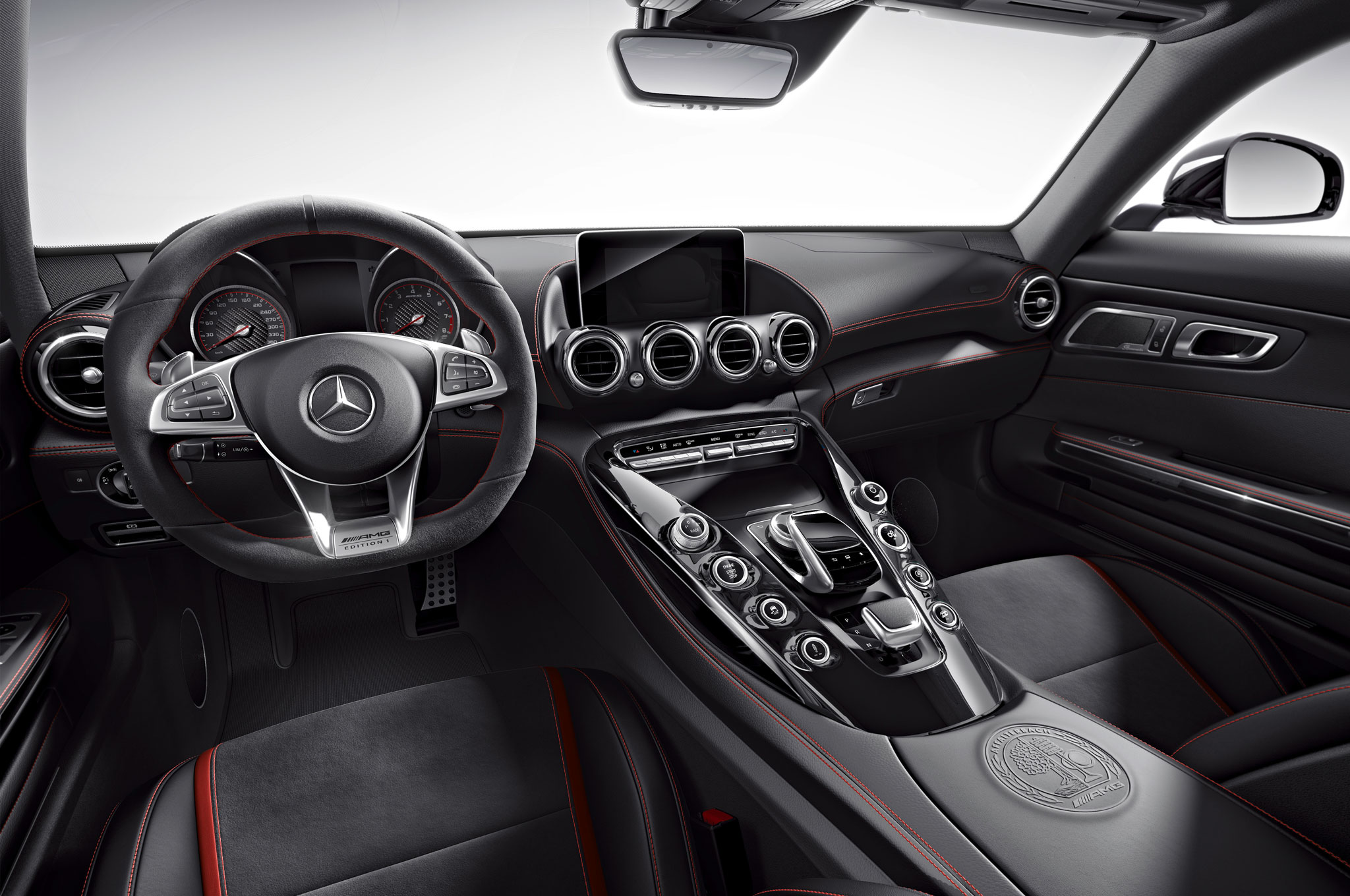 2016 Mercedes Amg Gt Kicks Off With Edition 1 Model