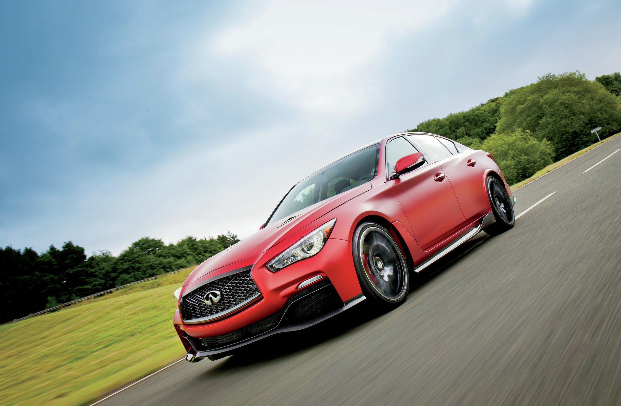 Driving The Infiniti Q50 Eau Rouge Prototype