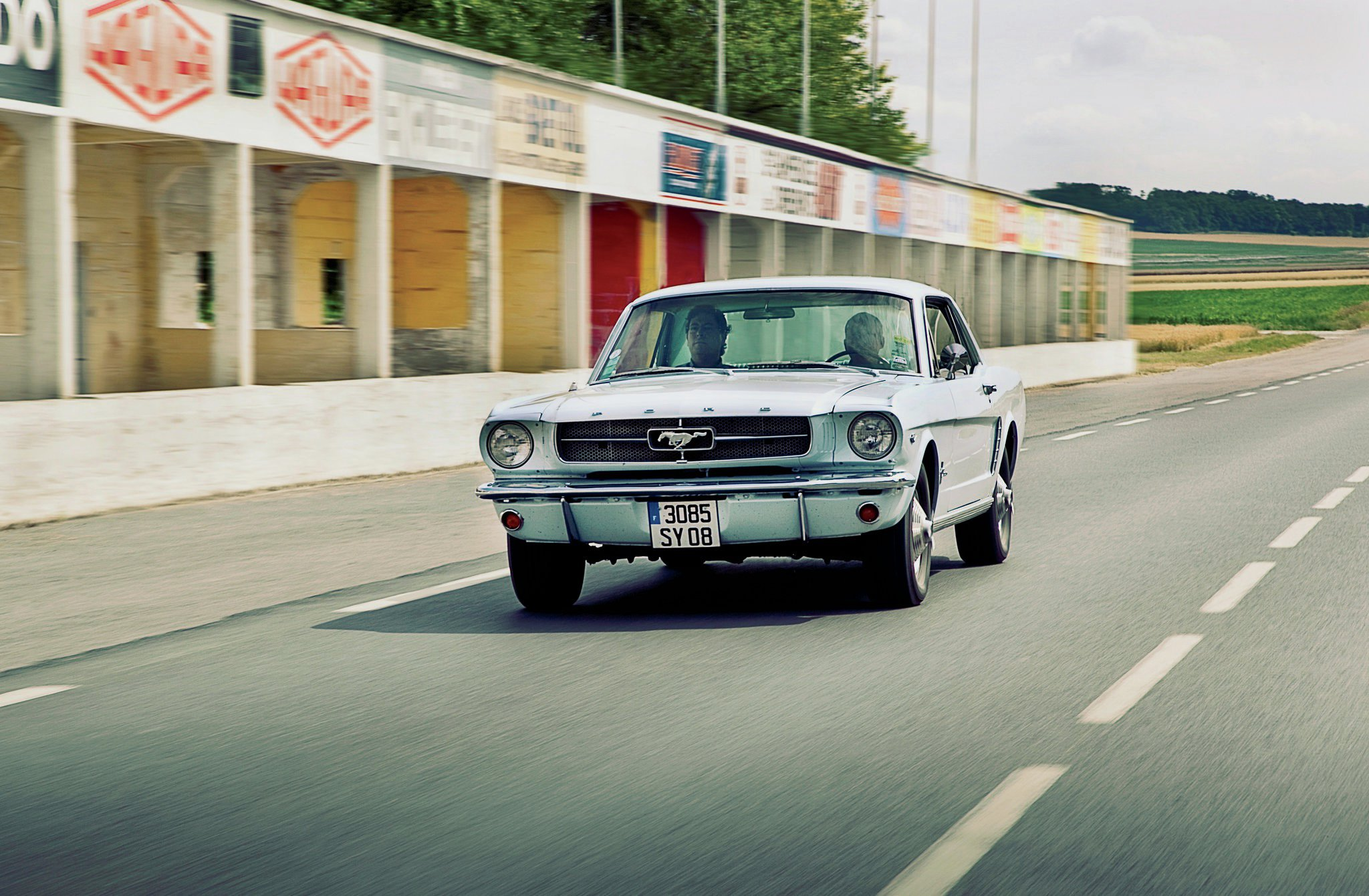 When The 1965 Ford Mustang Won Tour De France Automobile Ranchero Ignition Condition Modified Mustangs Fords