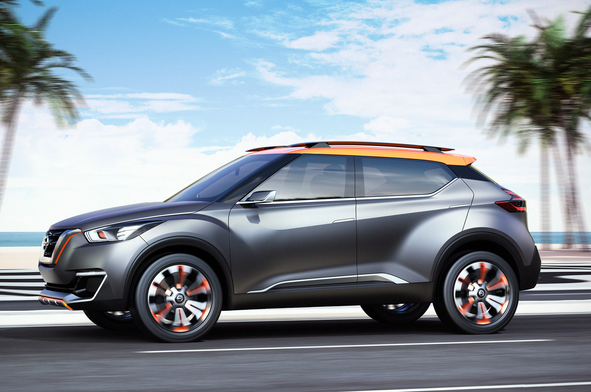 Nissan Kicks Suv Concept Debuts In Sao Paulo Mini Cooper Fuse Box Problems Show More