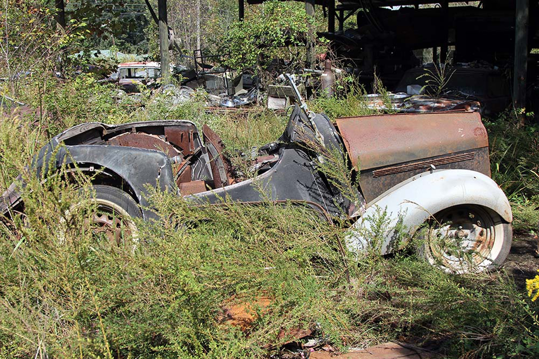 This is What 34 Acres of Rusting Classic Cars Looks Like