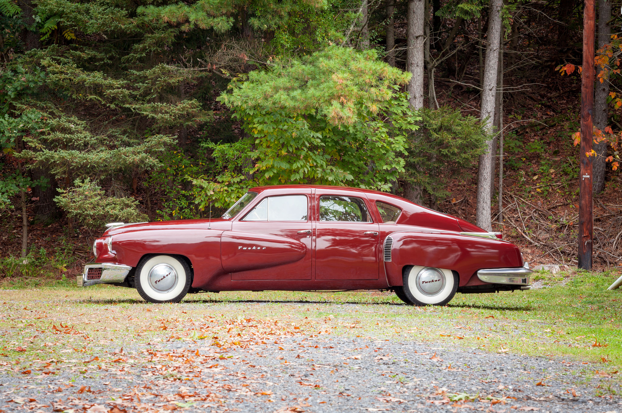 1947 Tucker 48 Prototype Driver Profile