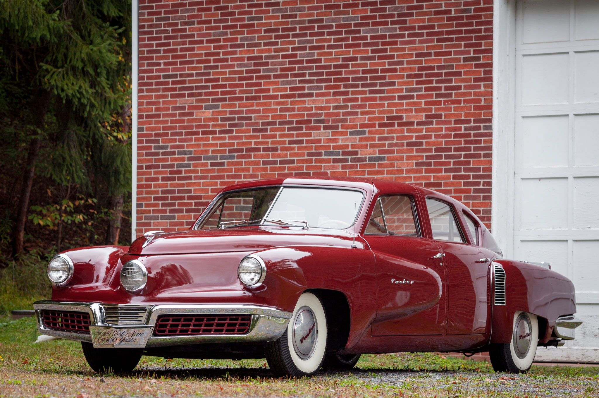 1947 Tucker 48 Prototype Front Three Quarter 2