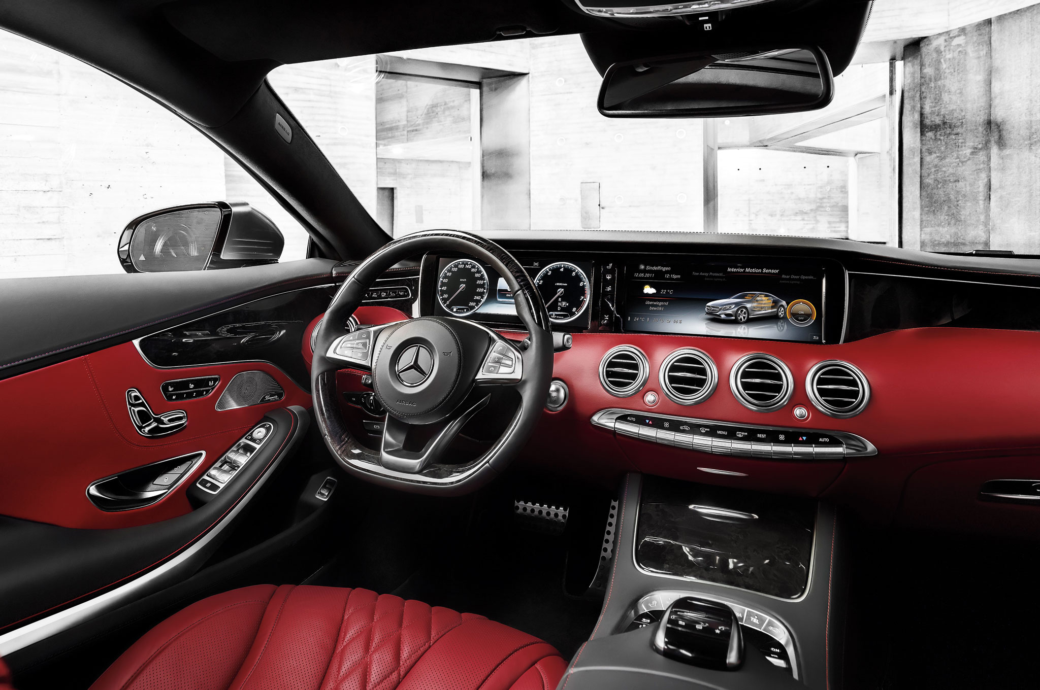 2017 Design Of The Year Mercedes Benz S Cl Coupe Automobile Magazine