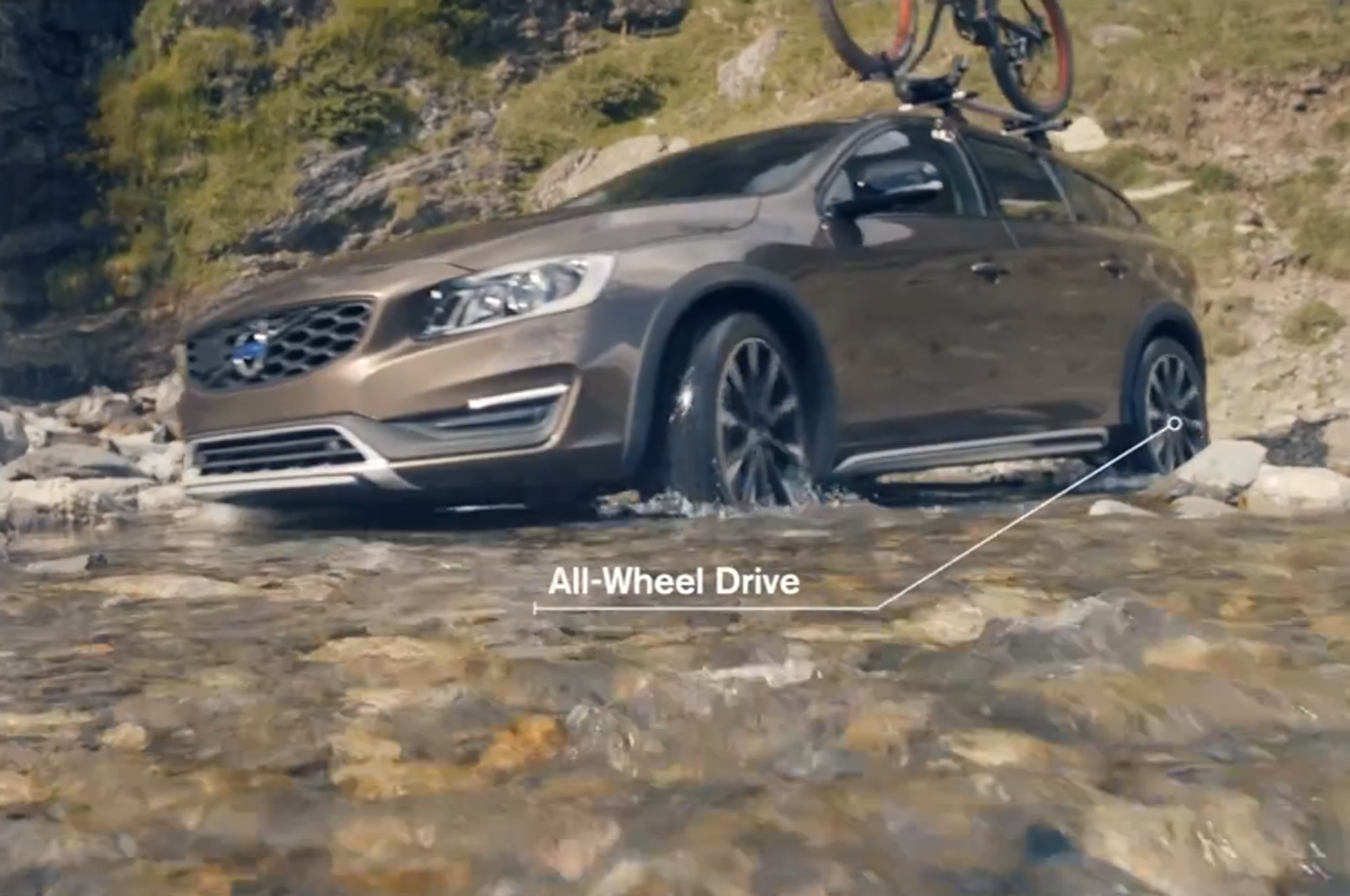 Watch The 2015 5 Volvo V60 Cross Country Go Off Road
