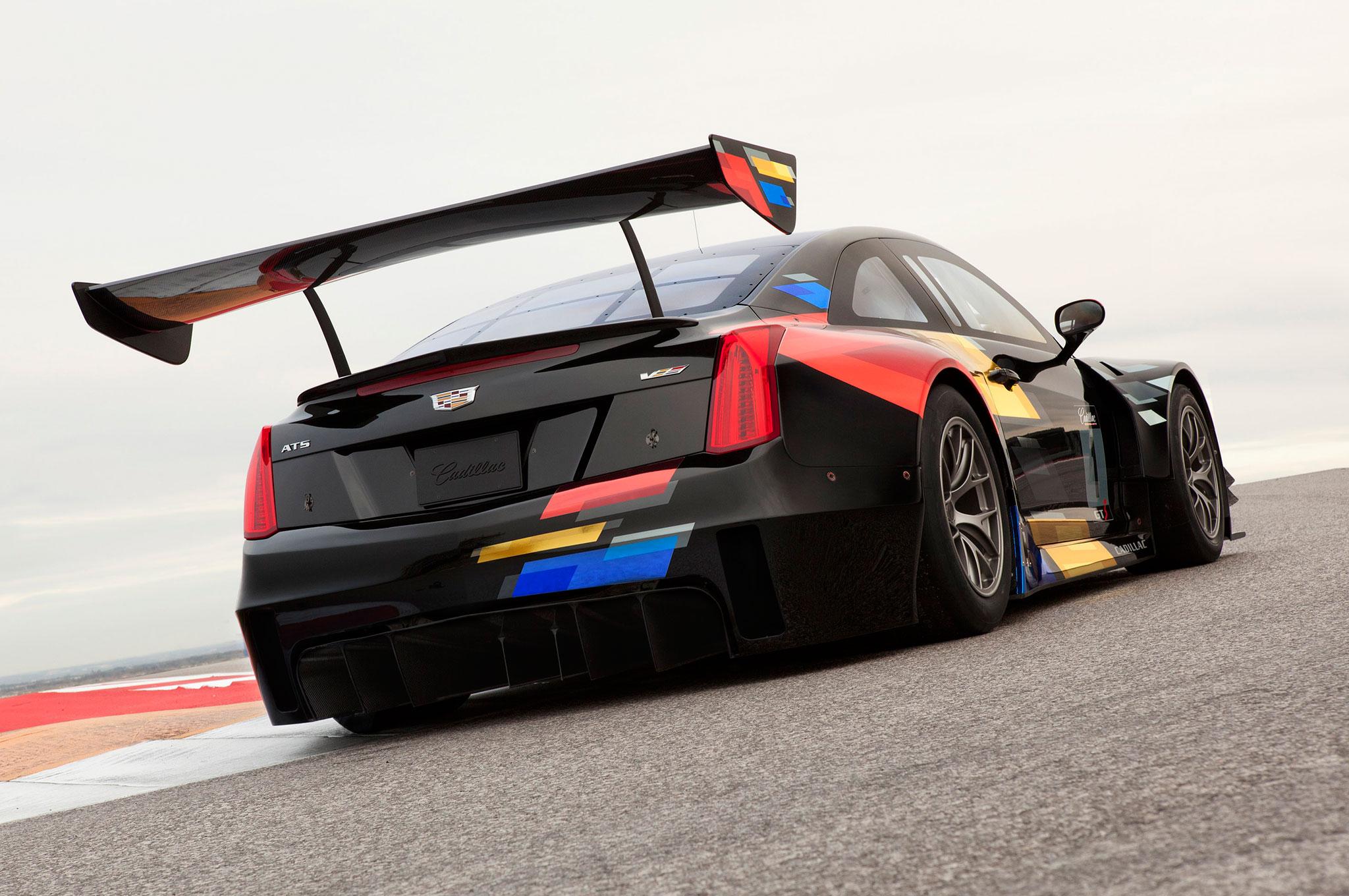 Cadillac Reveals 2016 ATS-V.R Racing Car