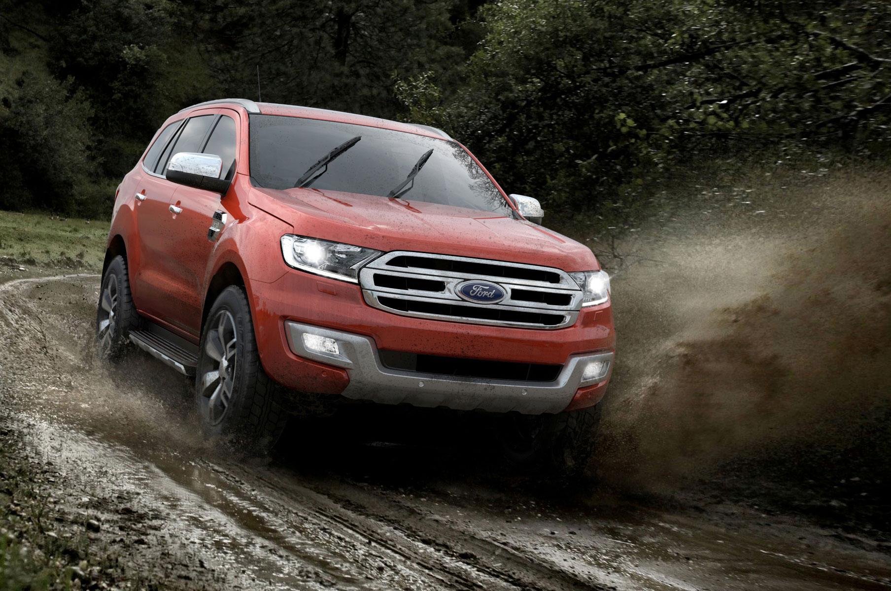 2016 Ford Everest Exterior Mud