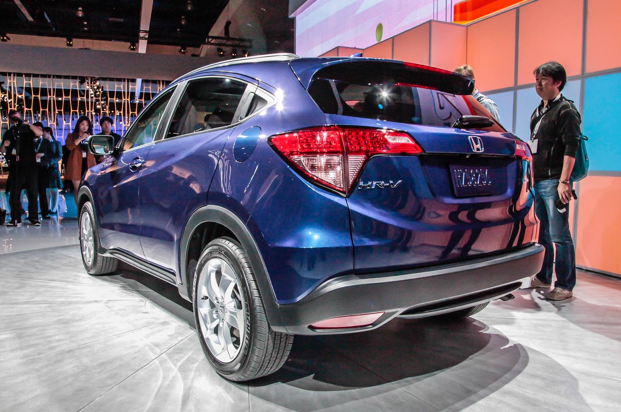 2016 Honda HR-V Uses Civic's 1.8-Liter Engine