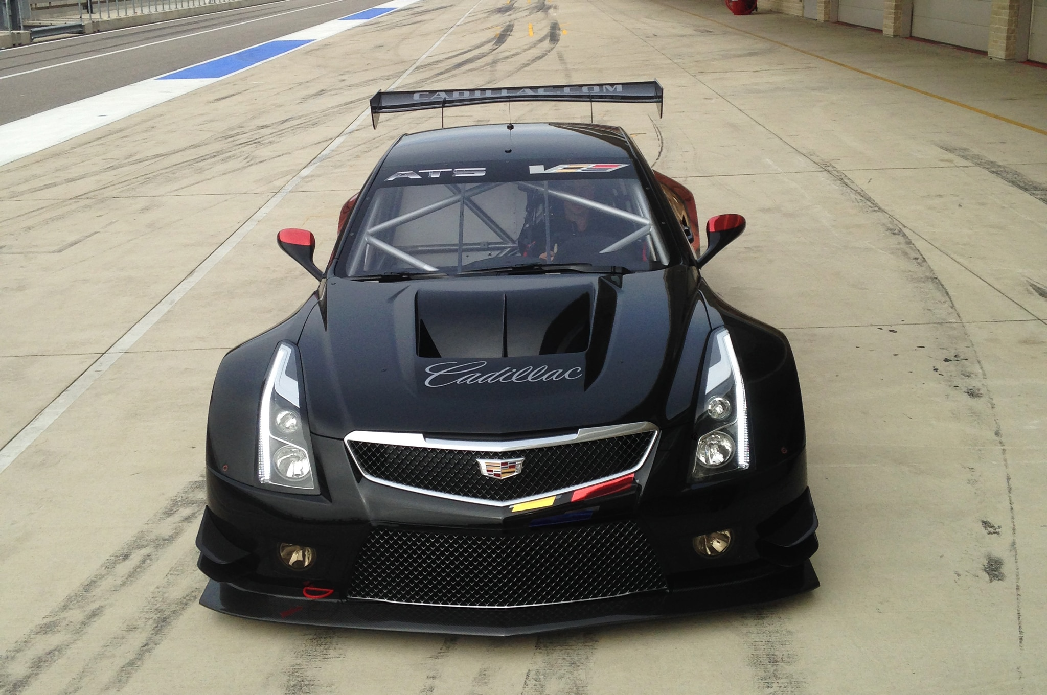 Cadillac Reveals 2016 ATS-V.R Racing Car