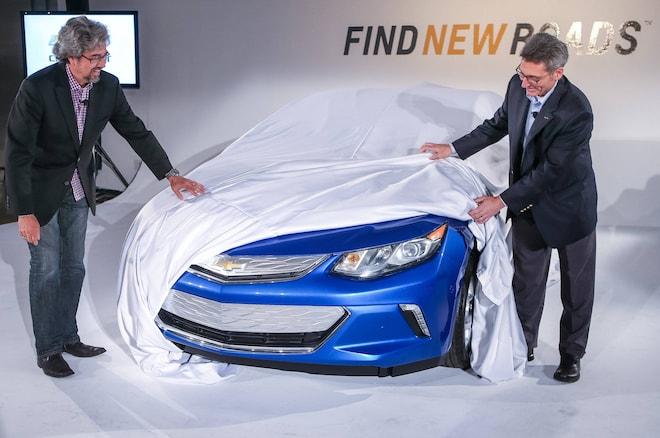 2016 Chevrolet Volt Front End Teaser