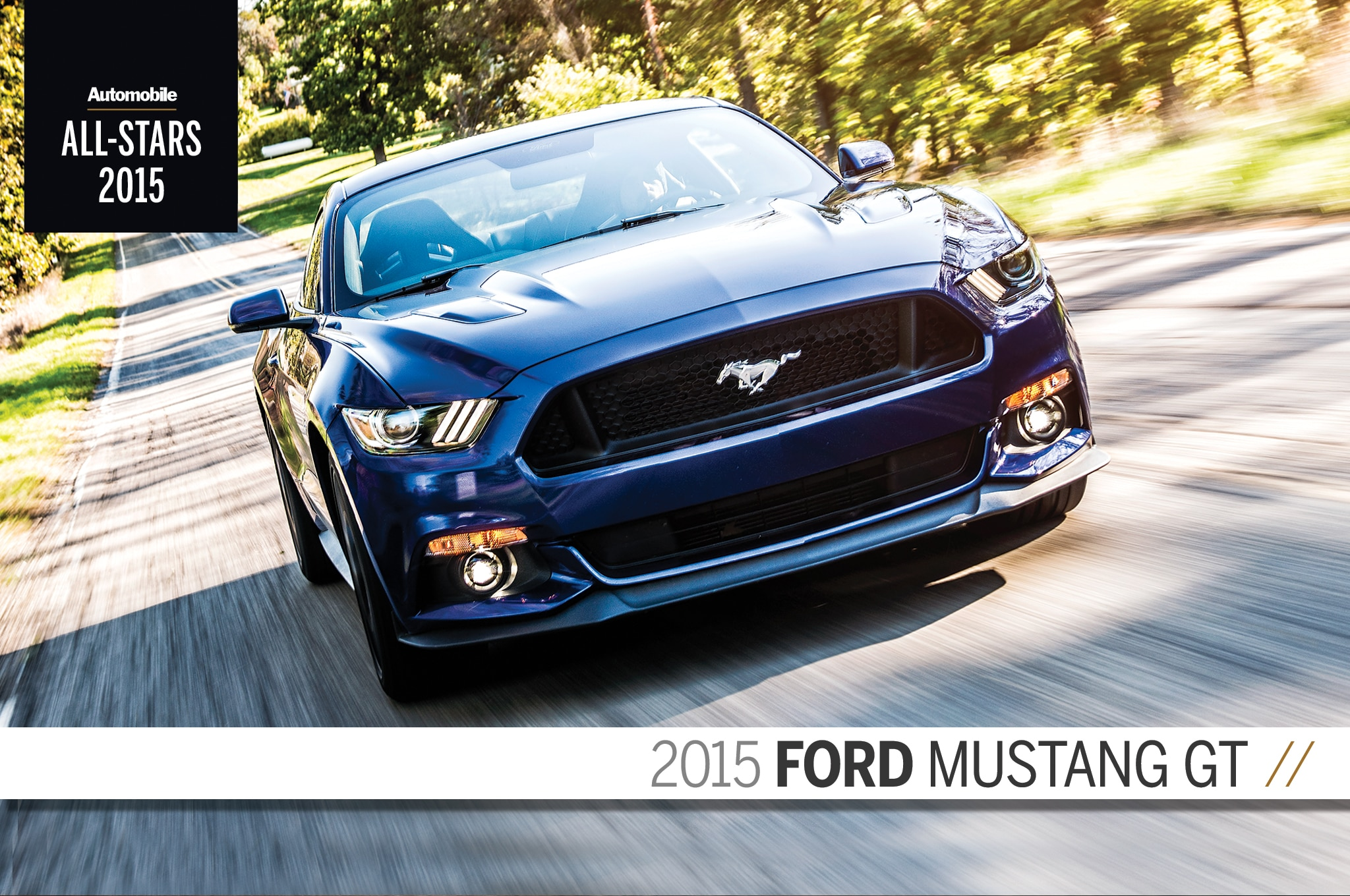 All Stars 2015 Ford Mustang GT Final