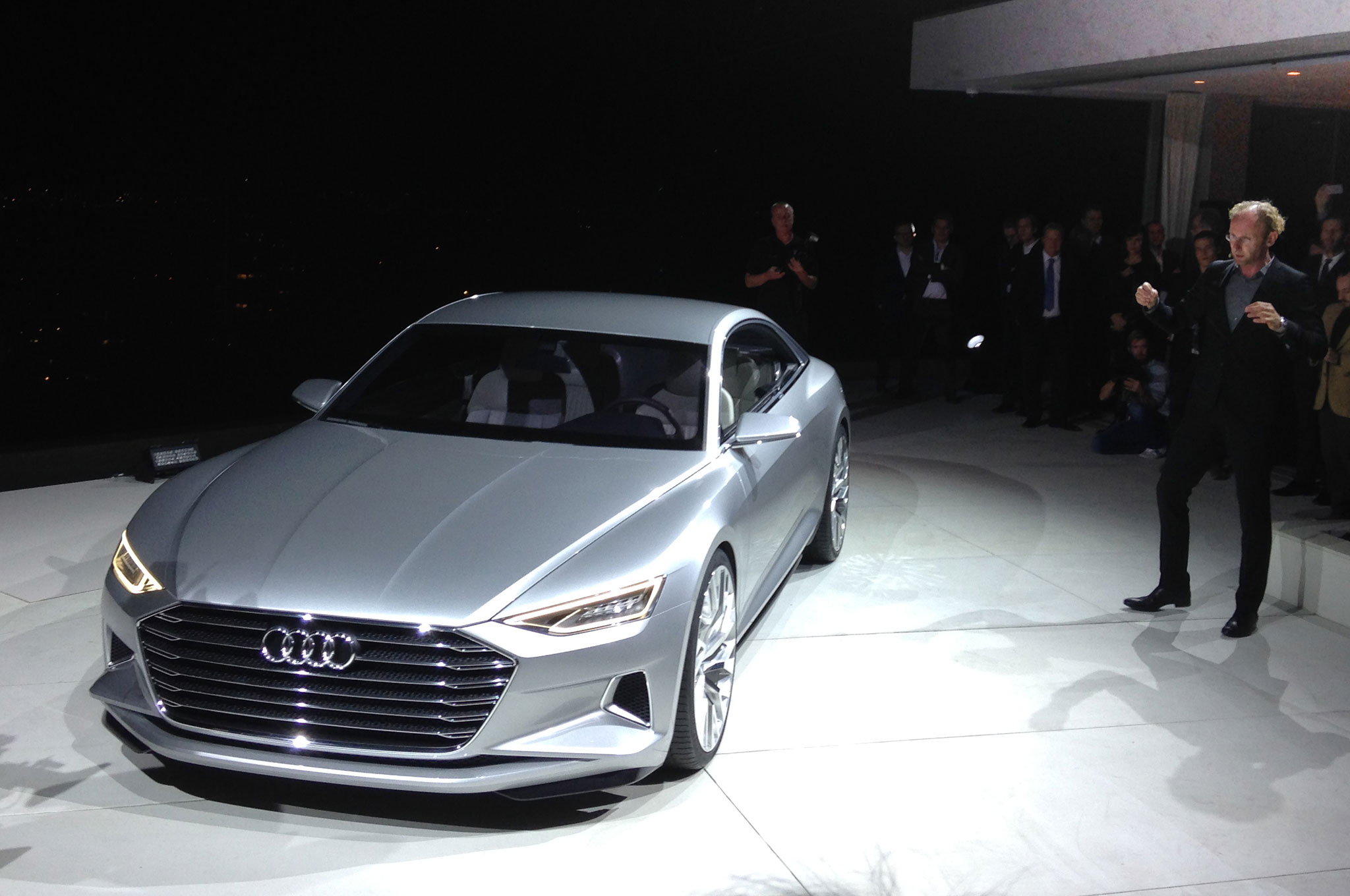 Audi Prologue Concept With Marc Lichte