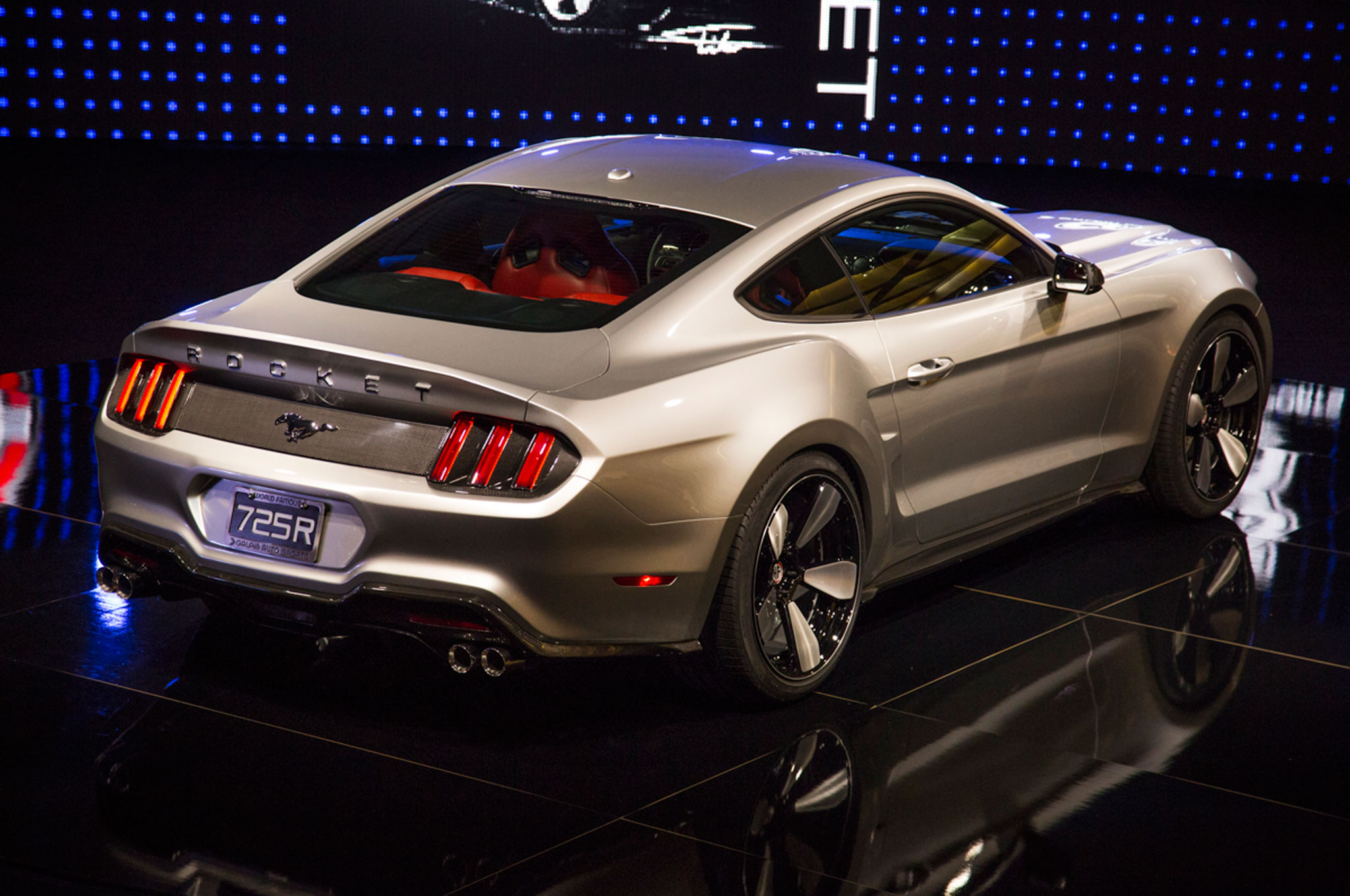 Galpin Fisker Rocket 2015 Ford Mustang Hits L A With 725 Hp