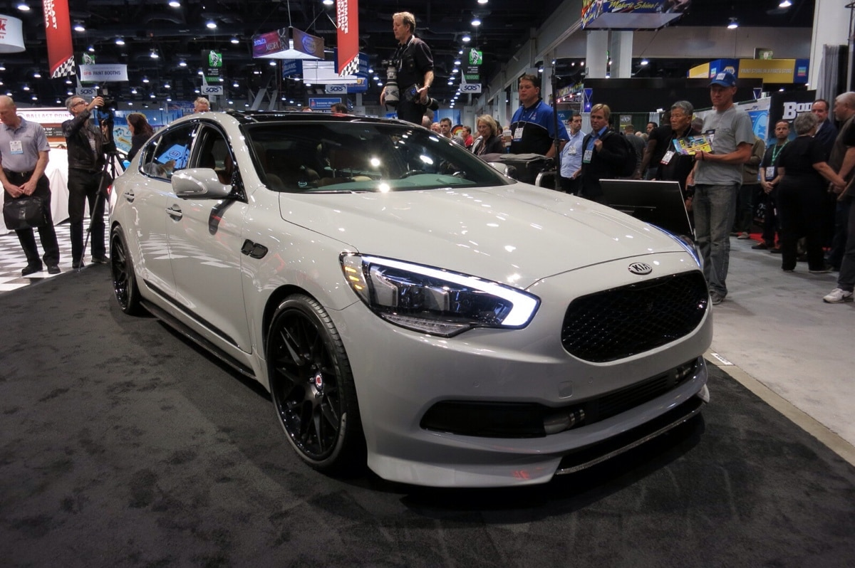 High Performance Kia K900 With 650 Hp At Sema Is Fit For