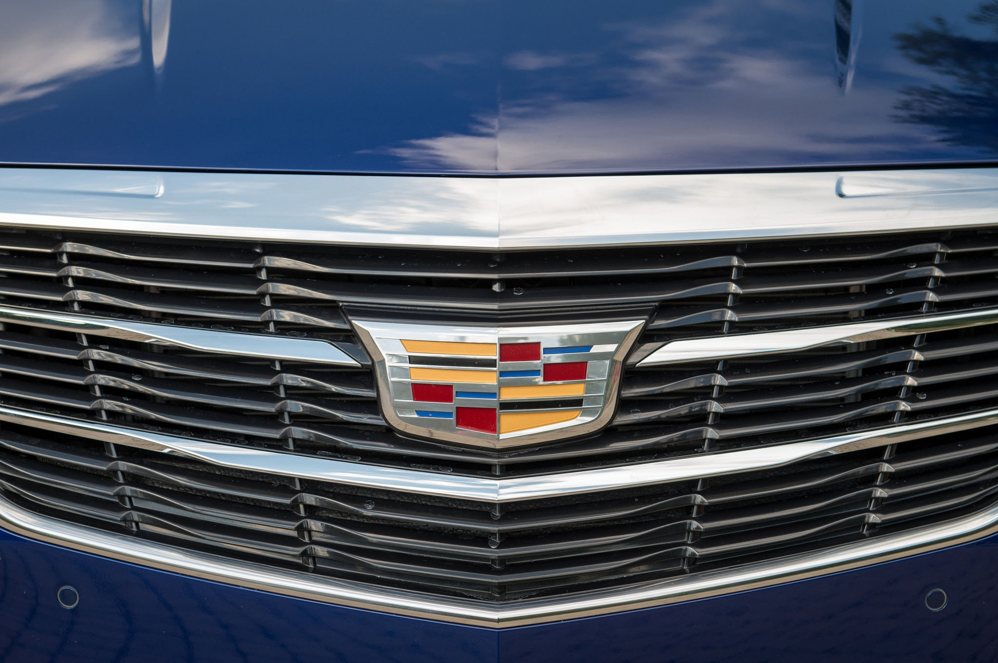 2015 Cadillac ATS Coupe Front Grille