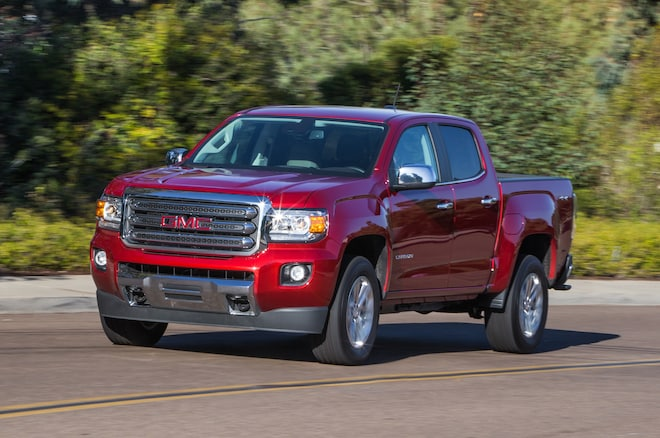 2015 GMC Canyon SLT In Motion