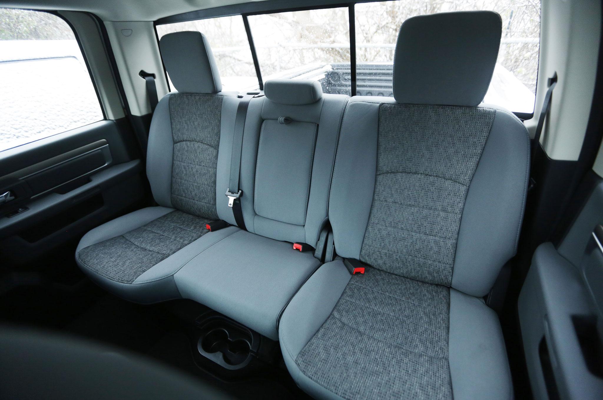 Ram Power Wagon Rear Seat on Dodge Ram 2500 Tradesman