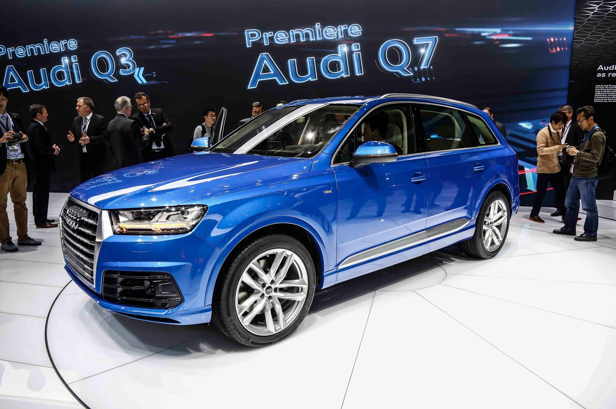 2016 Audi Q7 Coming To Detroit Auto Show