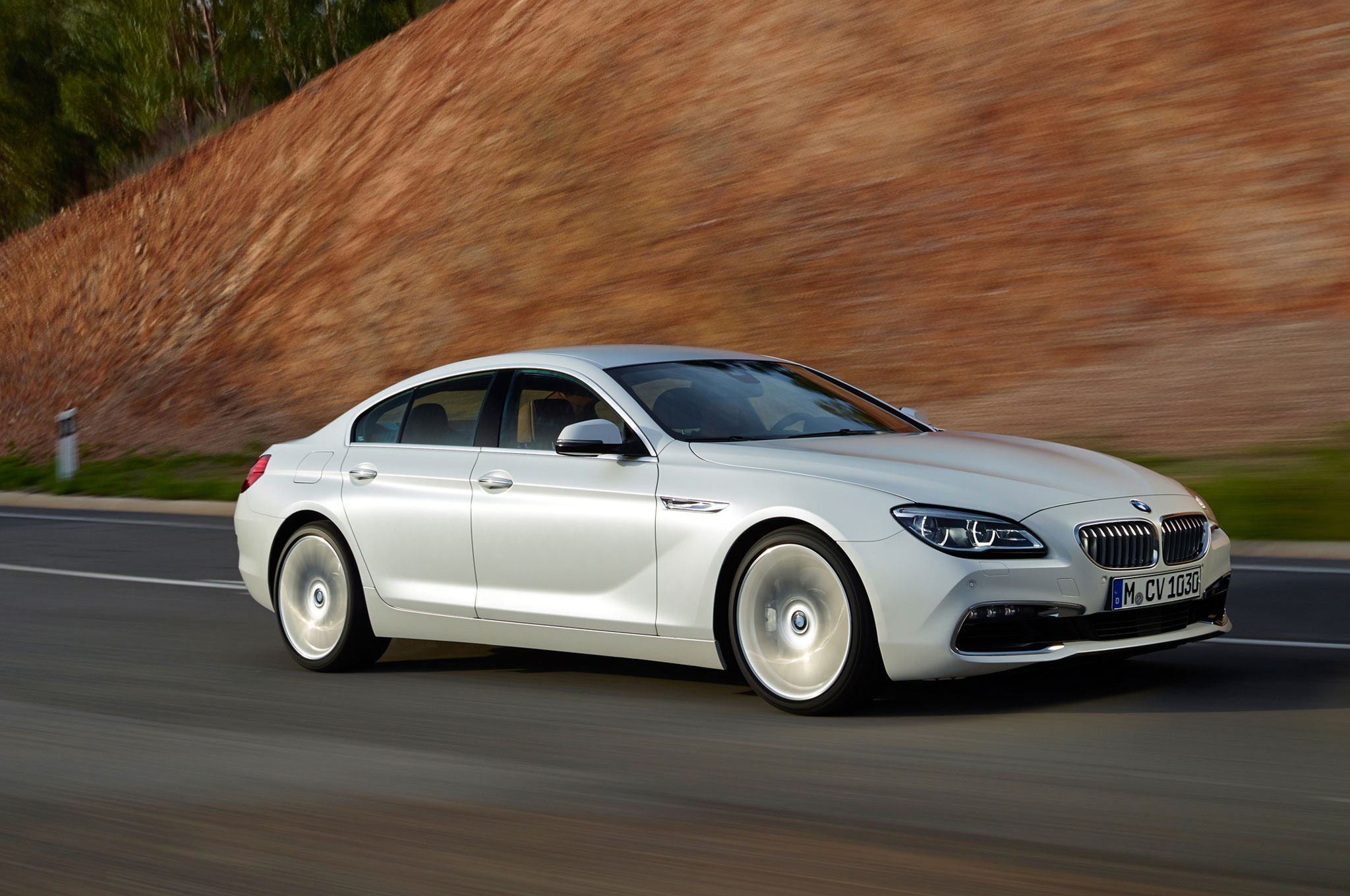 Major Changes To The 2016 Bmw 6 Series Begin With Restyled Kidney Grilles Which