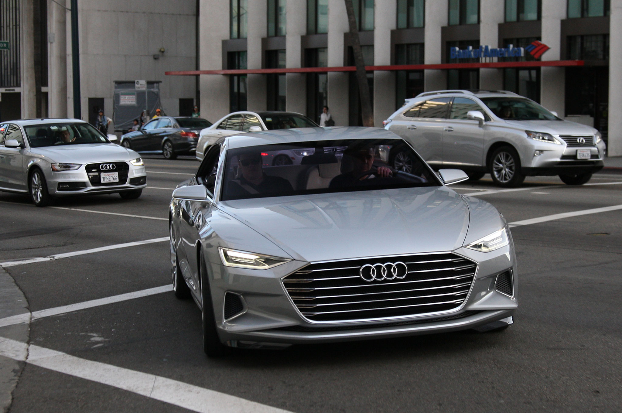 Audi Prologue Concept Front View 2