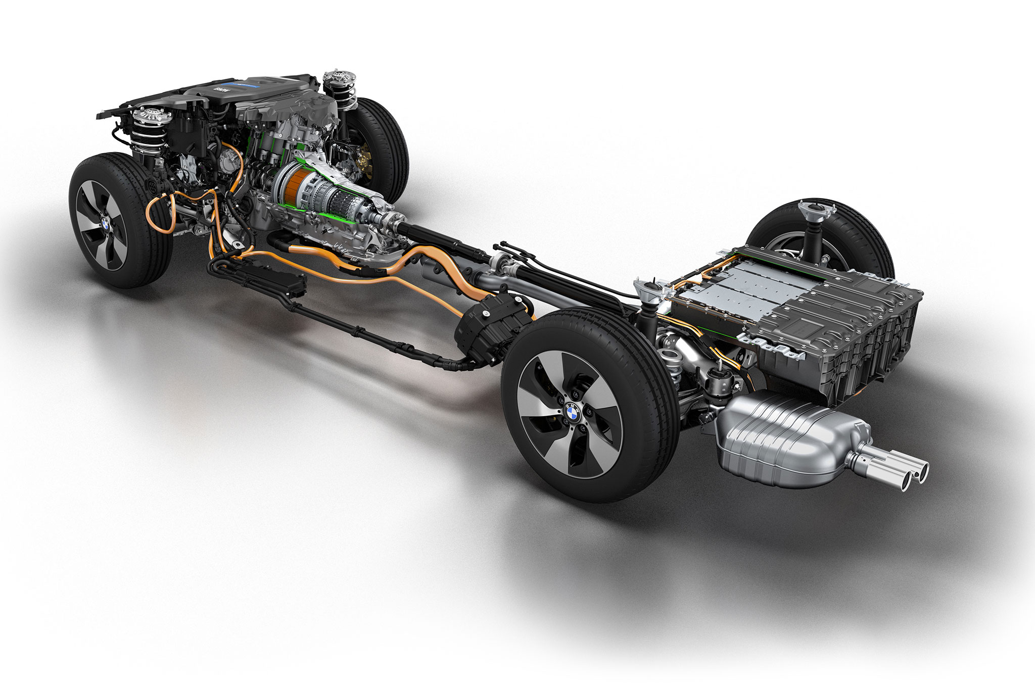 BMW 3 Series Plug In Hybrid Powertrain Prototype