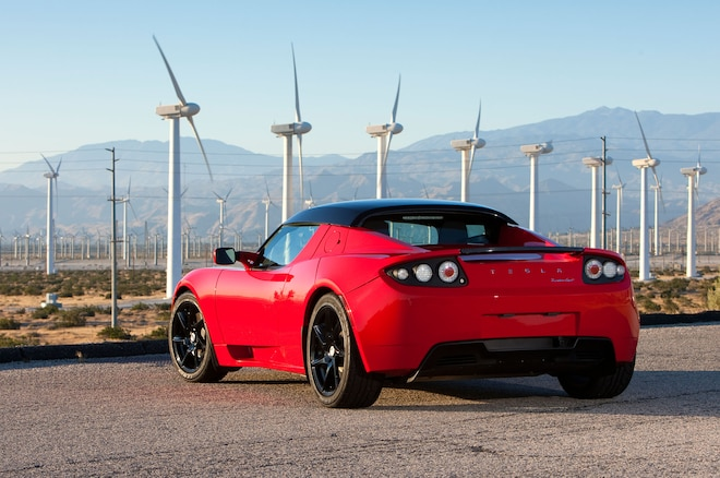 Tesla Roadster 25 Rear Three Quarter1