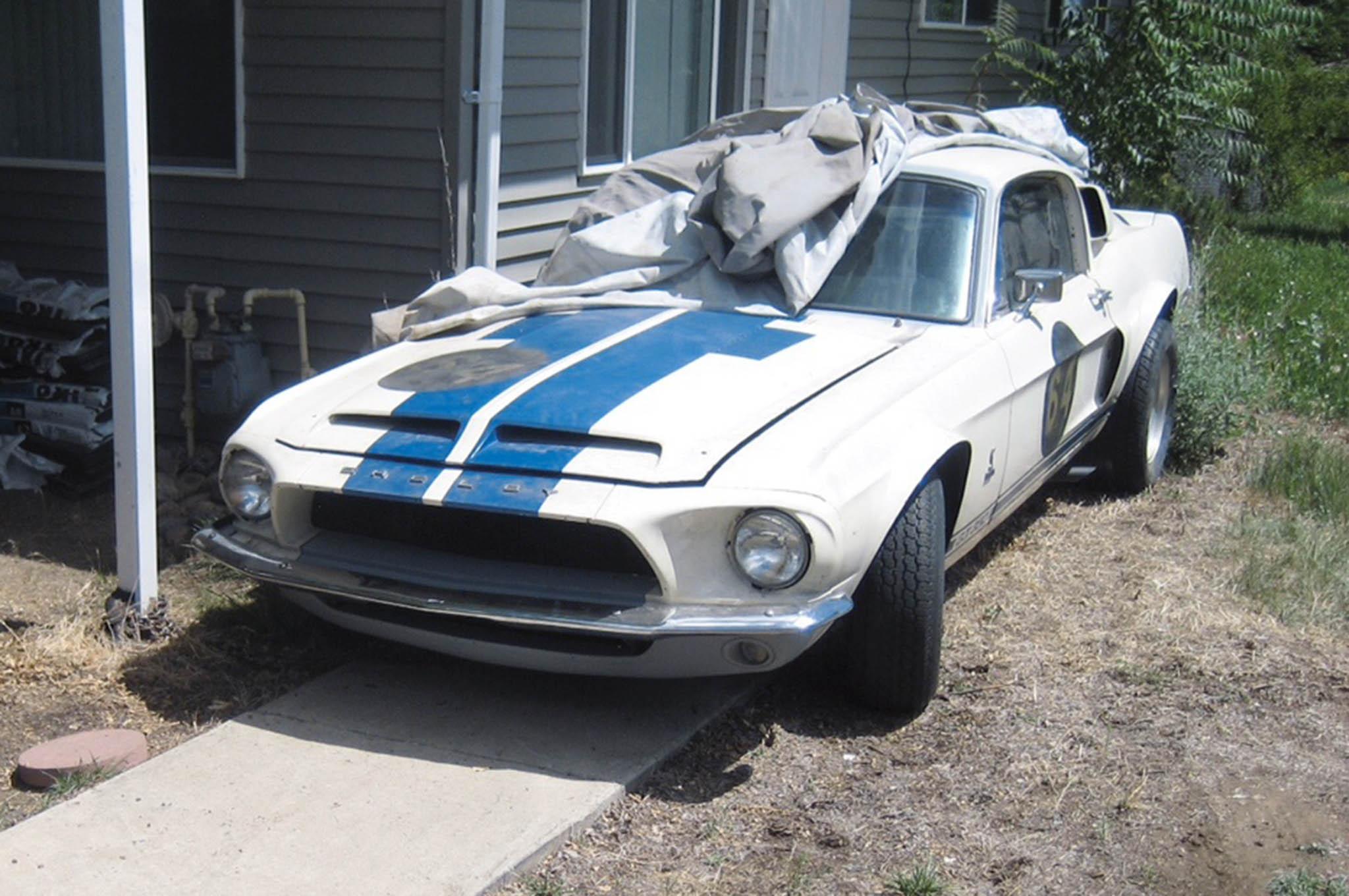 Barn Find: 1 Of 223 1968 Shelby GT350 Hertz Rental Cars