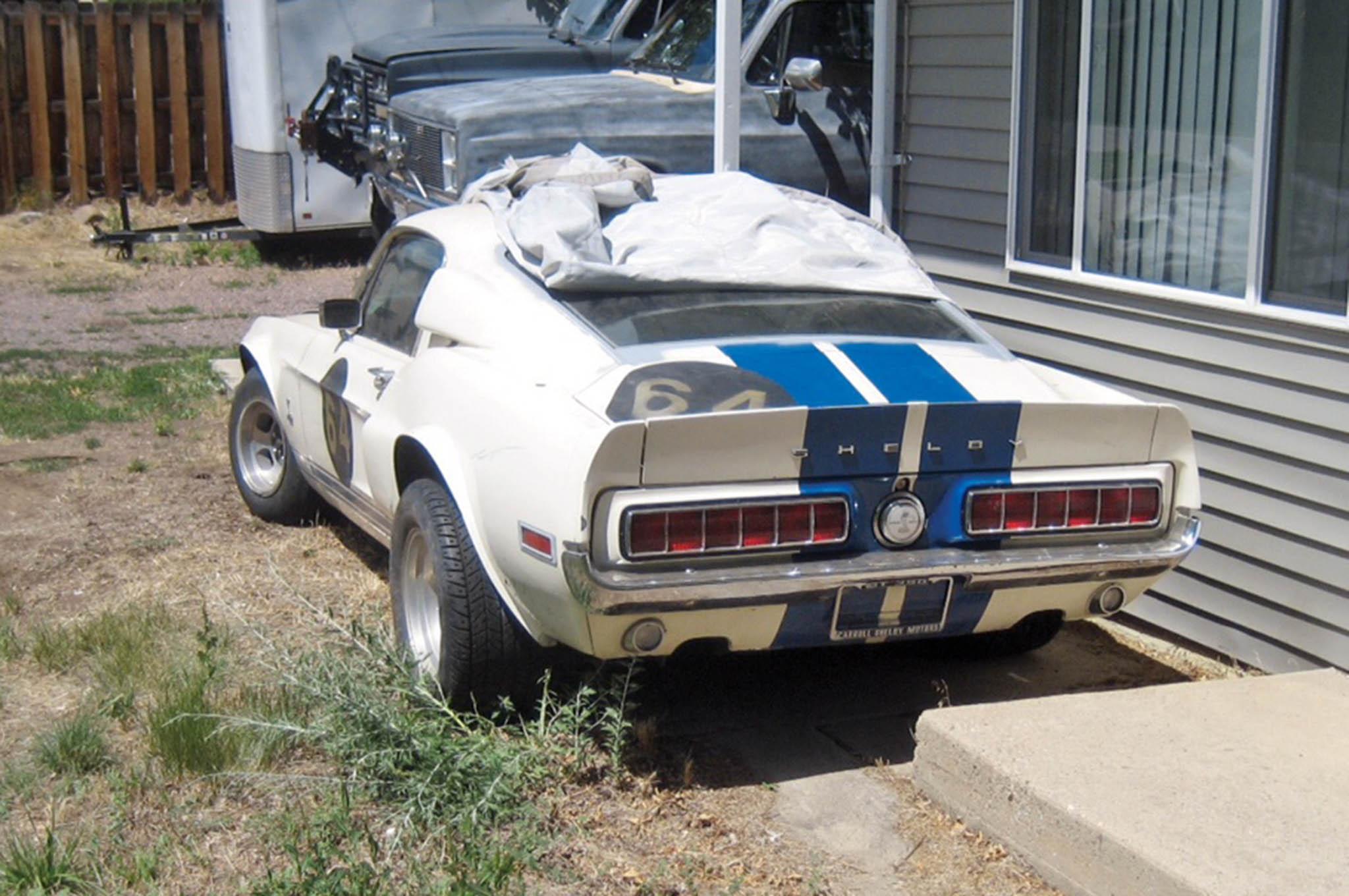 barn find 1 of 223 1968 shelby gt350 hertz rental cars. Black Bedroom Furniture Sets. Home Design Ideas