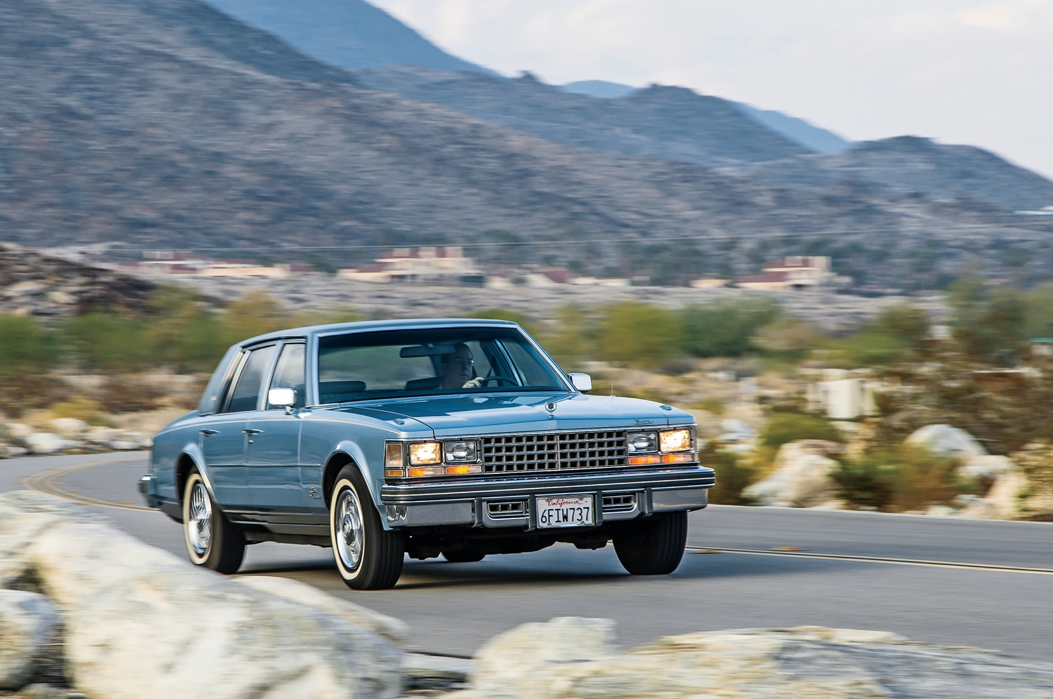 1976 1979 Cadillac Seville Front Three Quarter In Motion