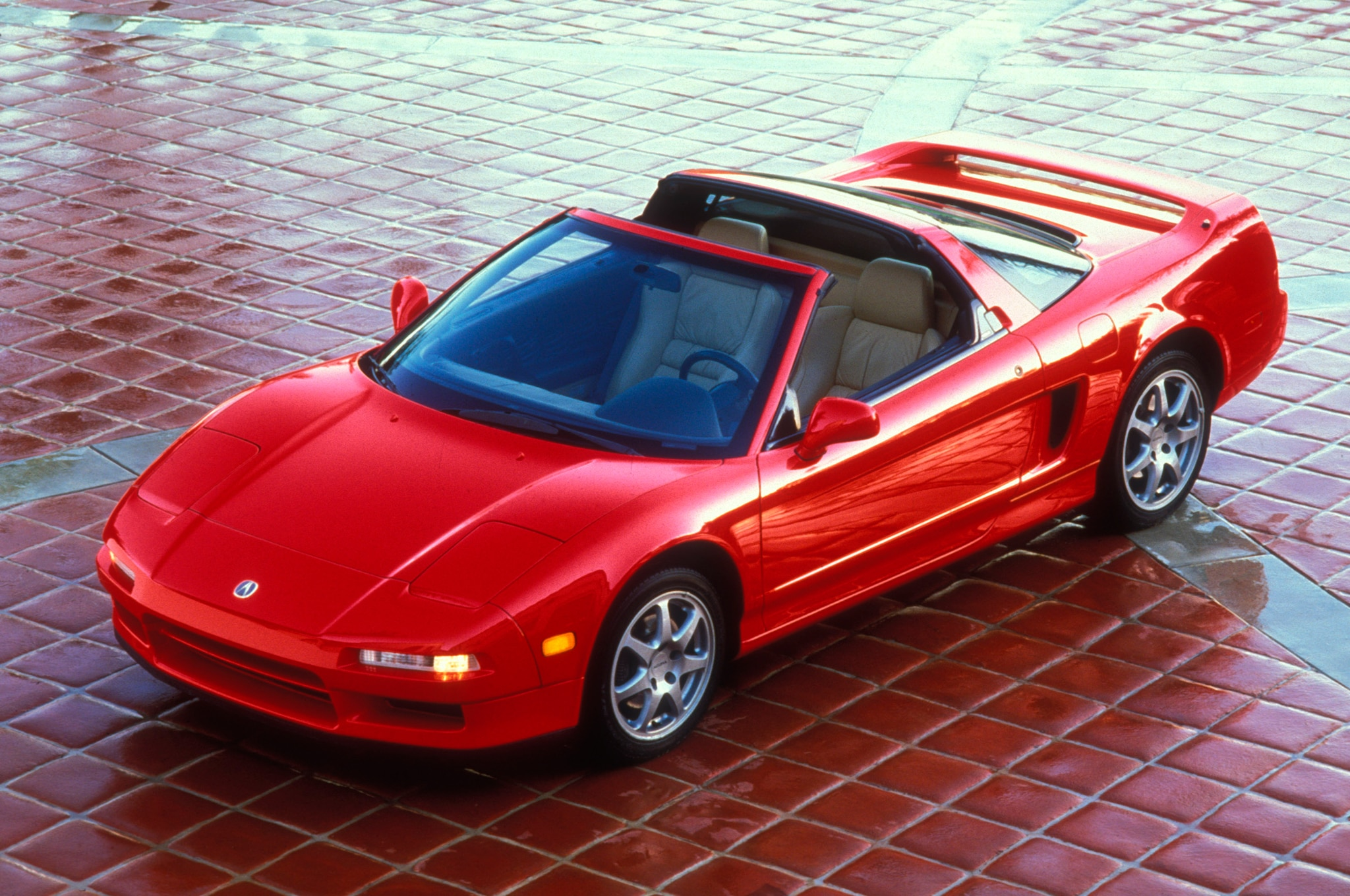 1995 Acura NSX Front Three Quarter