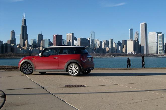 2014 Mini Cooper Chicago Skyline Rear Three Quarter