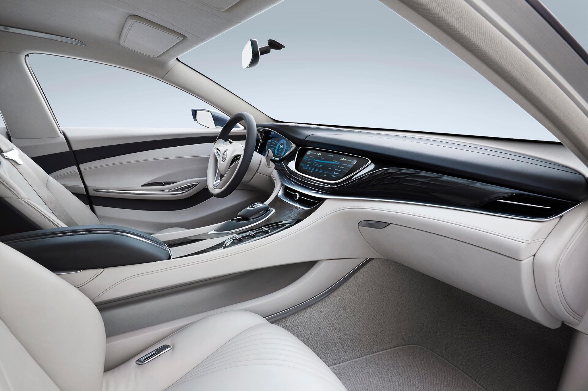 Buick Shocks Detroit With Rear-Wheel-Drive Avenir Concept