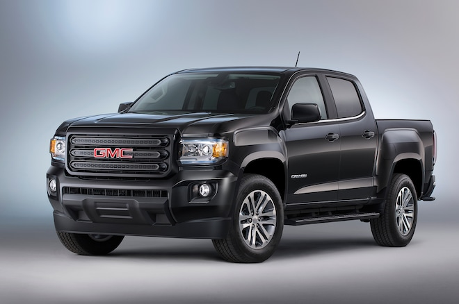 2015 GMC Canyon Nightfall Edition Front Three Quarter