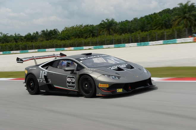 a18d02b97da 2015 Lamborghini Huracan LP 620 2 Super Trofeo Front Three Quarter In  Motion 3