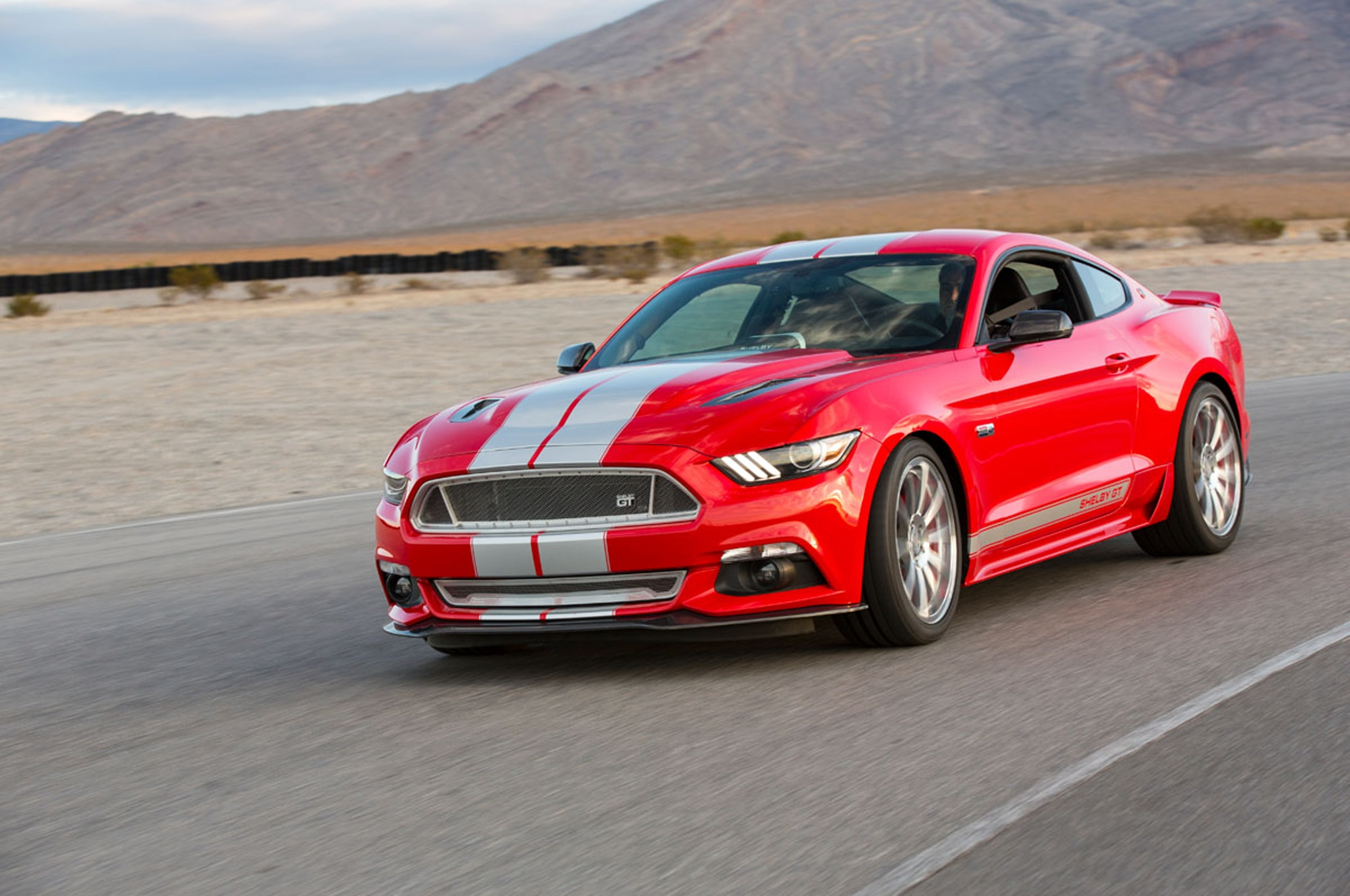 2015 Shelby American GT Front Three Quarter In Motion 11