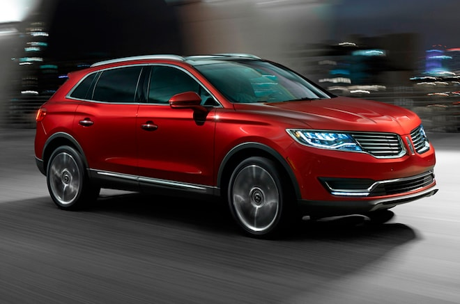2016 Lincoln MKX Homepage